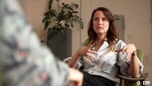 Die Psychologin Vanessa Murri im Gespräch mit In Good Shape Schlagworte: Vanessa Murri, Meditation, In Good Shape Copyright: DW DW Sendung In Good Shape ©DW