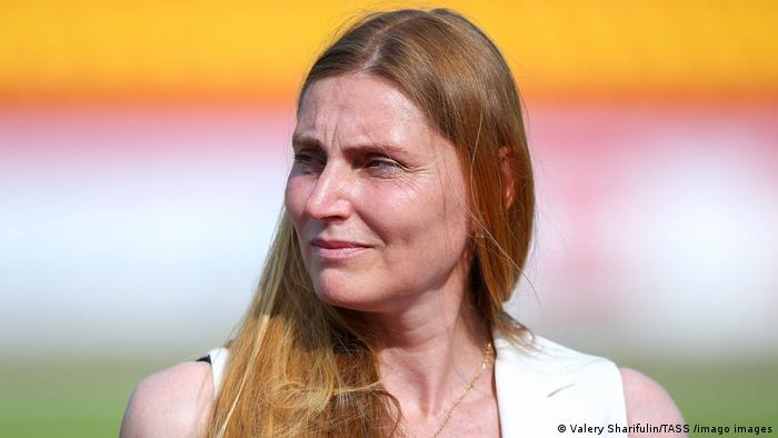 All-Russian Athletics Federation President Irina Privalova
