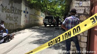 Haiti - Ermordung des Präsidenten Jovenel Moise