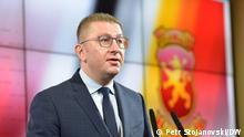 Nord-Mazedonien Parteichef VMRO-DPMNE Hristijan Mickoski