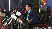 Dina Mufti, Spokesperson of the Foreign Affairs of Ethiopia. Wo- Addis Abeba, Ethiopia Wann- 09.07.2021 Author- Solomon Muchie, 9. Juli 2021