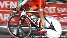 ROT // Hamed JANNAT (IRAN) - Zeitfahren U23 - Einzelzeitfahren - Einzel-Zeitfahren - RAD - WM - Rad-WM - 2011 in Kopenhagen - Radweltmeisterschaft - Weltmeisterschaft Radfahren - Strasse - Straße - Nationalmannschaft - Nationaltrikot -