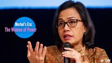 Sri Mulyani zu sehen, Finanzministerin von Indonesien Merkel's Era: The Women of Power