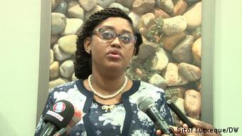 Mosambik   Carla Louveira, stellvertretende mosambikanische Ministerin für Wirtschaft und Finanzen