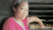 Sie sind von Dorine Nina Nyabeyeu eine behinderter Geschäftsleiterin in Kamerun. Die Bilder hat unser Korrespondentin in Kamerun Elisabeth Asen gemacht. Suchbegriffe: Kamerun- Dorine Nina Nyabeyeu – Graînes d'espoir
