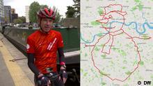 DW Sendung Euromaxx Anthony Hoyte, Sitting Ducks, Manchester, GPS, strava, Fahrrad