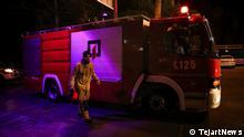 gewaltige Explosion in Nord Teheran Schlagw.: Teheran; Explosion; Q.: TejartNews