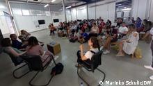Sommer-Jugendschule in Srebrenica Autor: Marinko Sekulic-DW Korrespondent aus Srebrenica Datum: 10.07.2021