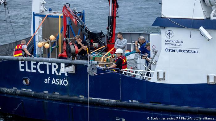 Schweden Estland MS Estonia Untersuchung