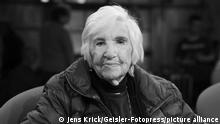 Esther Bejarano bei der Aufzeichnung der WDR-Talkshow 'Kölner Treff' im WDR Studio BS 2. Köln, 29.03.2019