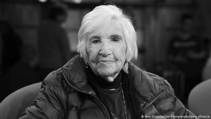 Esther Bejarano - deutsch-jüdische Überlebende des Konzentrationslagers Auschwitz-Birkenau