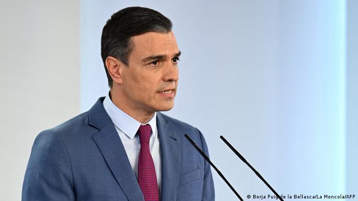 Spanien | PK Pedro Sanchez | Kabinettsumbildung