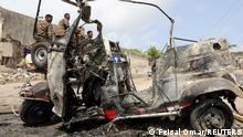 July 10, 2021*** A wreckage of a rickshaw is seen at the scene of a car explosion near Banadir hospital in Mogadishu, Somalia July 10, 2021. REUTERS/Feisal Omar TPX IMAGES OF THE DAY