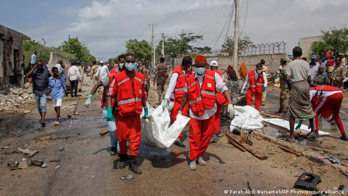 Somalia Bombenanschlag in Mogadishu