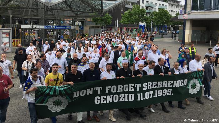 Srebrenitsa Katliamı'nın 26'ncı yıldönümü: Kurbanlar için anma töreni