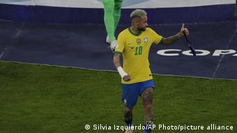 Fußball Copa America Finale Argentinien - Brasilien