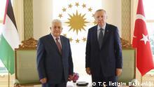 Treffen Mahmoud Abbas und Erdogan in Istanbul
