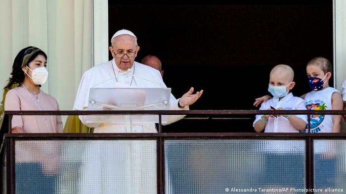Italien | Rom | Agostino Gemelli Poliklinik | Papst Franziskus