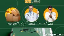 Hatla2ee Dawak App / Du findest dein Medikament? Ägypten App Dein Medikament ©Hatla2ee Dawak