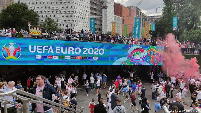 UEFA EURO 2020   Αγγλία Ιταλία φίλαθλοι