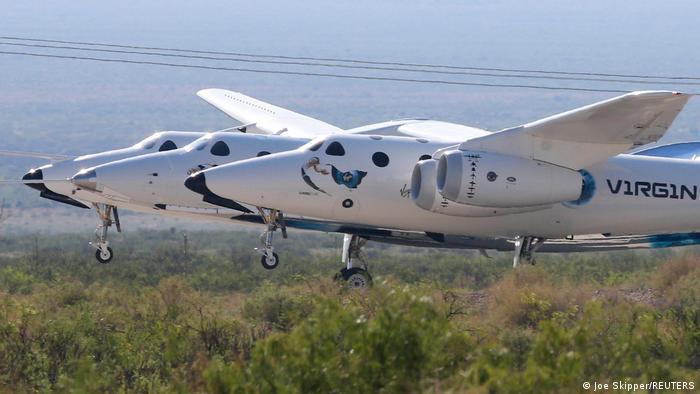 هواپیمای مجهز به راکت ساخت شرکت ویرجین گالاکتیک