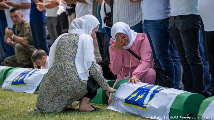 Bosnien und Herzegowina   26. Jahrestag Massaker von Srebrenica