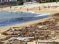 Playa de El Masnou, cerca de Barcelona.