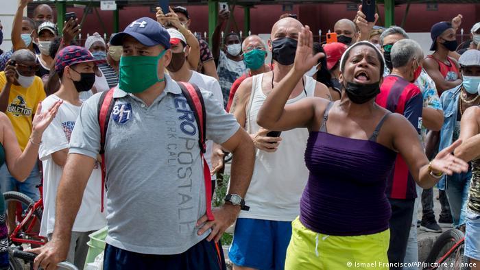 Kuba I Protest gegen Regierung