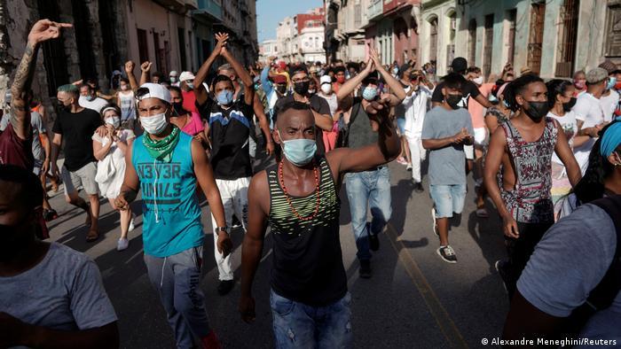 Weltspiegel | Havana, Kuba | Protest gegen Regierung