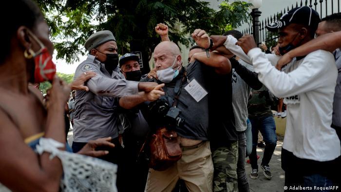 Proteste in Kuba
