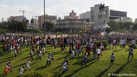 Protestas en Cuba.