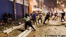 Südafrika | Ausschreitungen in Durban