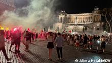 11.07.2021 | Italy win 2020 Euro final. Rome. Massive street parties. Celebrations.