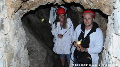Tschechien und Hunderte Tonnen von Gold   Bergbaustollen St. Antonín