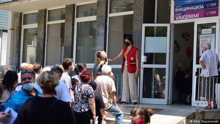 Nord Mazedonien Corona Impfung ohne Termin in Skopje