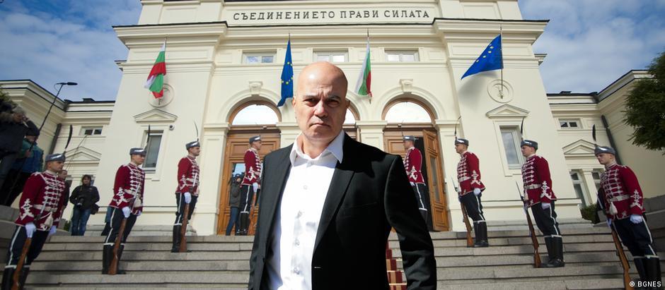 Bulgarien Slavi Trifonov von der Partei ITN