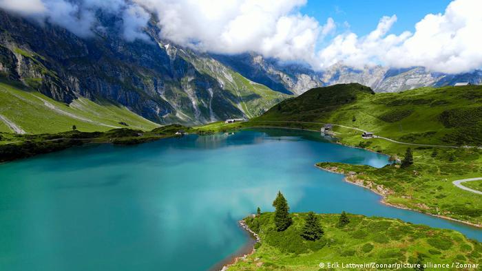 Schweiz | Alpen mit Blick auf den Trübsee