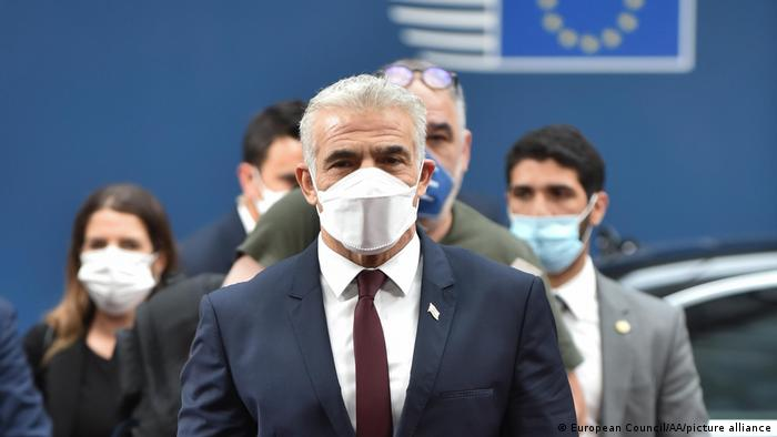 Belgien |Yair Lapid | israelischer Außenminister zu Besuch in Brüssel