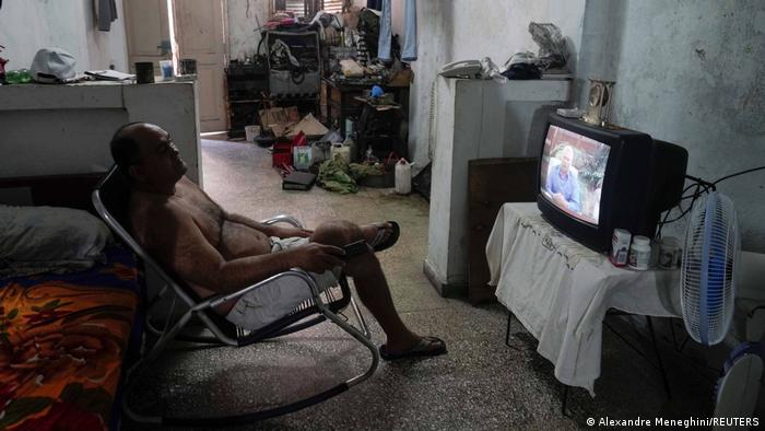 Kuba | TV Ansprache Präsident Miguel Diaz-Canel