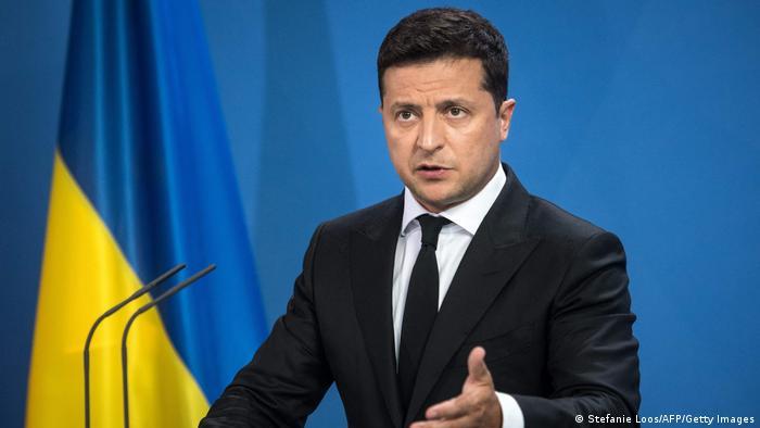 Deutschland | ukrainischer Präsident Wolodymyr Selenskyj in Berlin