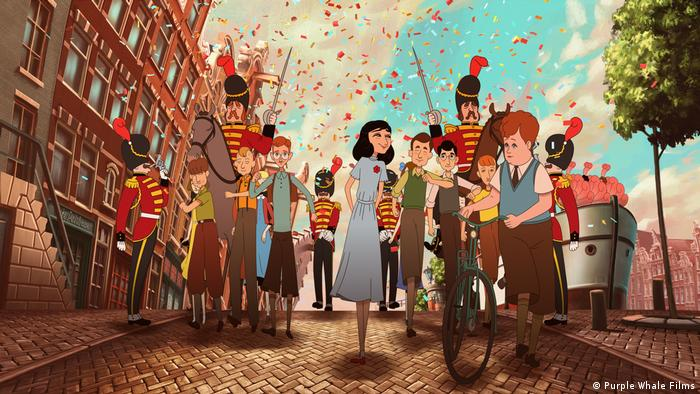 Cena do filme de animação Where is Anne Frank, de Ari Folman