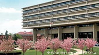 Front des Walter Reed Armeekrankenhauses in Washington D.C.b (Foto: Walter Reed Army Hospital)