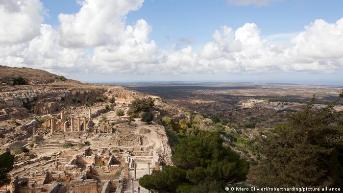 Libyen   Cyrene UNESCO World Heritage Site