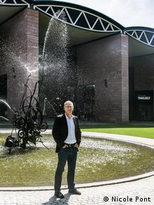 Roland Wetzel, director of Museum Tinguely.