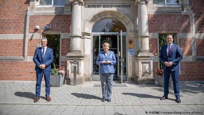 Deutschland | Merkel besucht Robert-Koch-Institut RKI