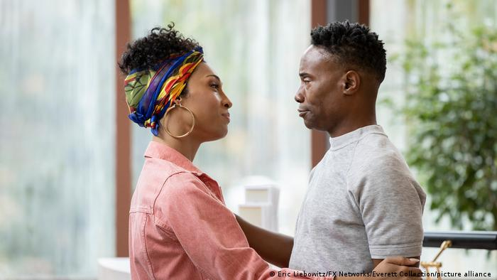 Mj Rodriguez and Billy Porter in Pose