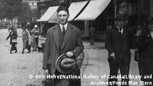 ca. 1925 Max Stern in Deutschland