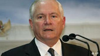 Robert Gates Indonesien