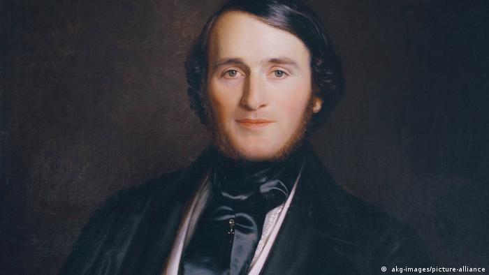 Richard Wagner, pintura de Ernst August Becker
