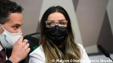Emanuela Medrades Wer hat das Bild gemacht/Fotograf?: Marcos Oliveira/Agência Senado (Bundessenat Brasiliens) Wann wurde das Bild gemacht?: 13/07/2021 Wo wurde das Bild aufgenommen?: Brasília, Brasilien